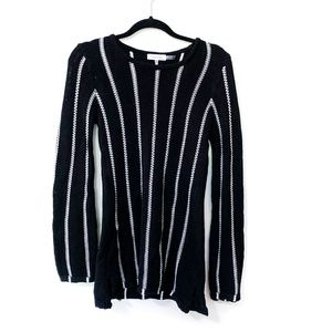 Calvin Klein Striped Long Sweater Size S
